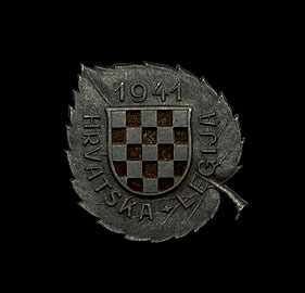 Croatian Legion Badge