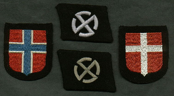 Danish Norwegian Insignias