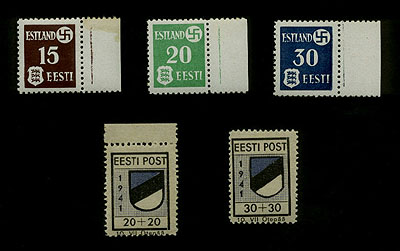 Estonian Stamps