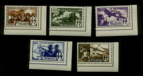 Flemish Waffen-SS Stamps