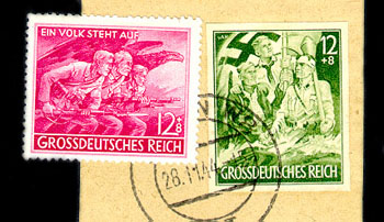 German People's Stamp