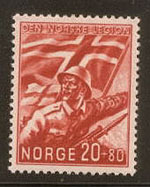 Norwegian Legion Stamp