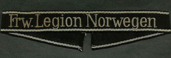 Norwegian Legion Cuff Title