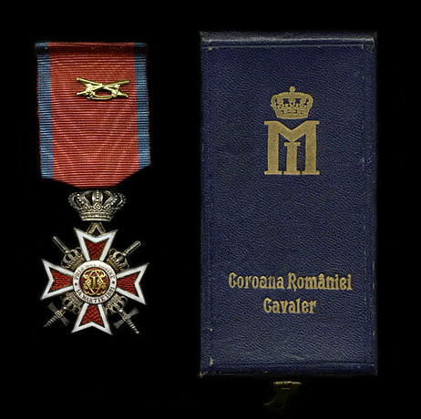 Romanian Knight Cross