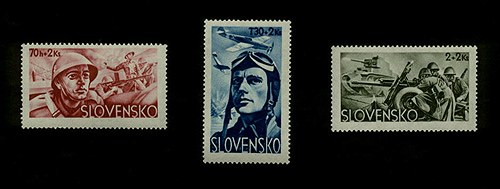 Slovakian Army Stamps
