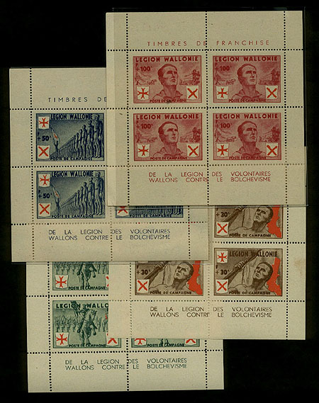 Walloon Legion Stamps